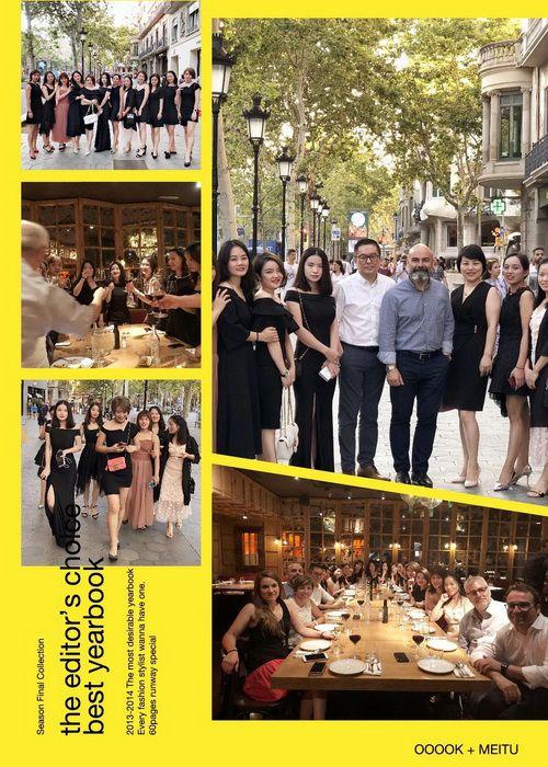 10位伊丽汇操作师们与INDIBA西班牙总公司合照