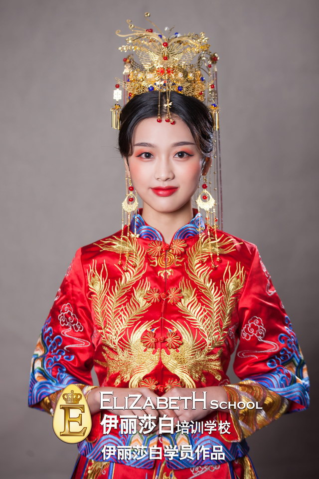 甜美新娘化妆造型