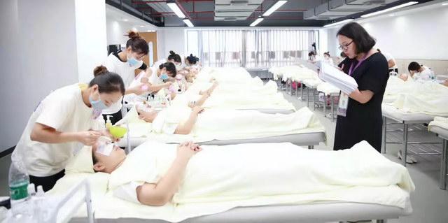 美容师面部考试