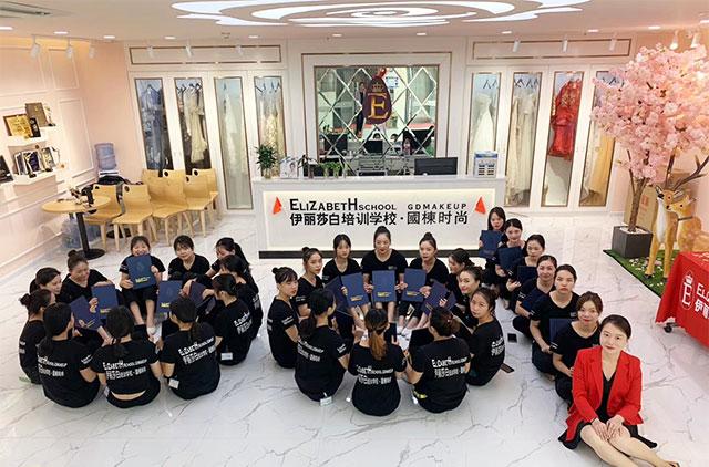 伊丽莎白学校学生毕业合照(广州白云校区)